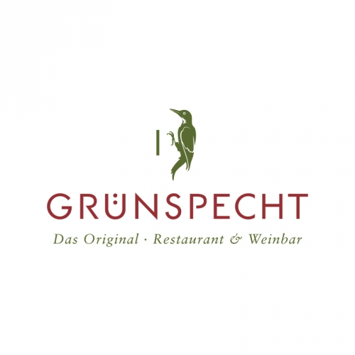 restaurant logo design Green Woodpeeker